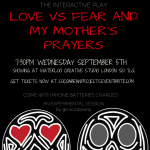 Bunmi Love vs Fear London Sept Poster